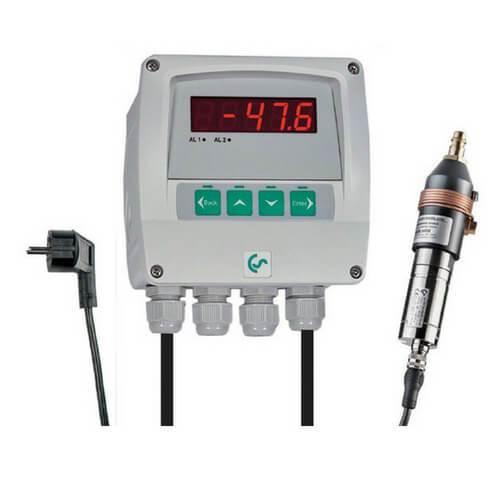 Thiết bị đo độ ẩm (dewpoint) cho máy sấy khí hấp thụ DS 52