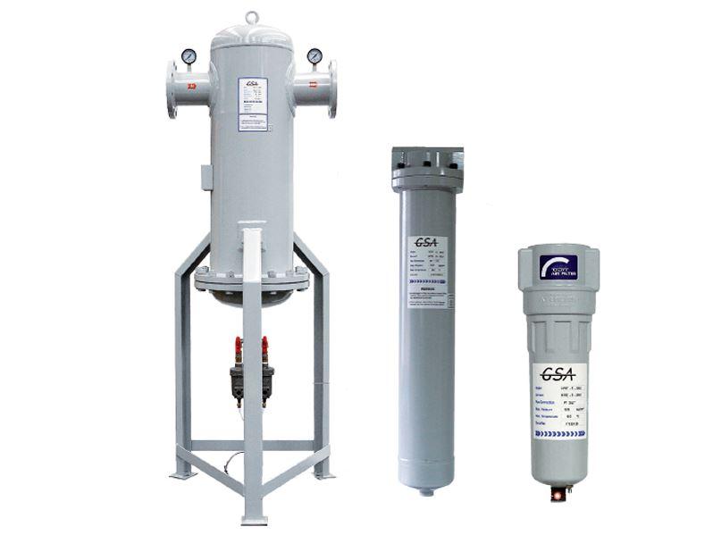 Vai trò của bộ lọc đường ống khí nén