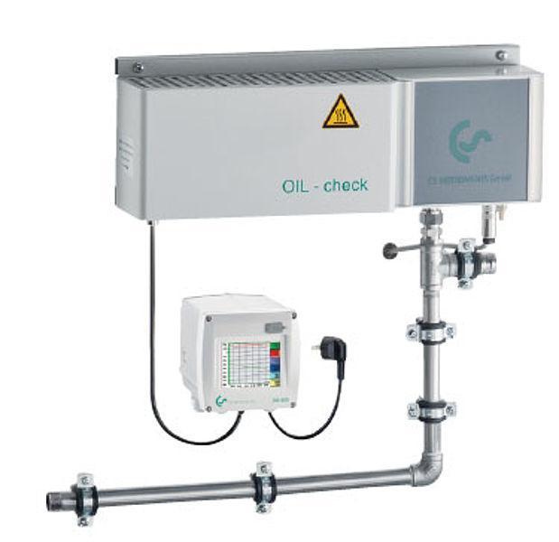 Máy đo hơi dầu trong khí nén OILCHECK CS Instruments – Made in Germany
